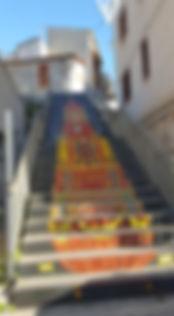 scalinata dedicata al carro trionfale.jp