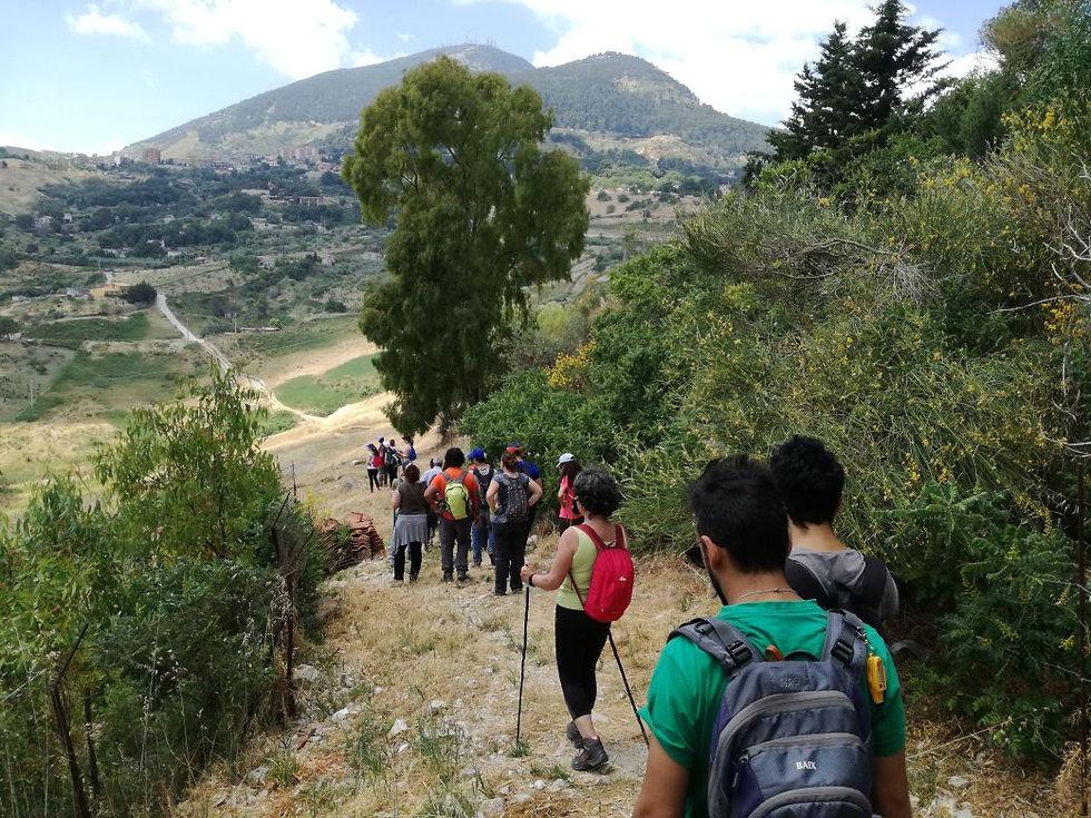 sentiero per cammarata