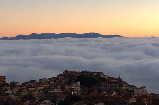panorama da La casetta sulle nuvole, Cammarata, una montagna di eccellenze