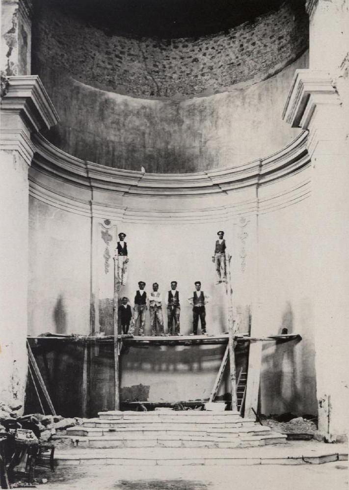 foto storiche chiesa san domenico cammar