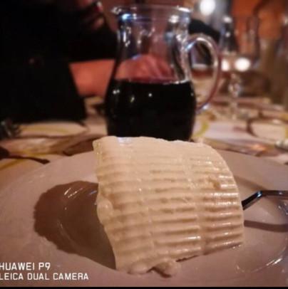 Ricotta e vino ristorante la rustica Cammarata