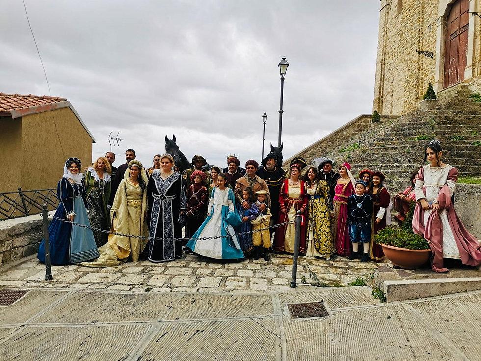 Il gruppo storico Abatellis Branciforti cammarata