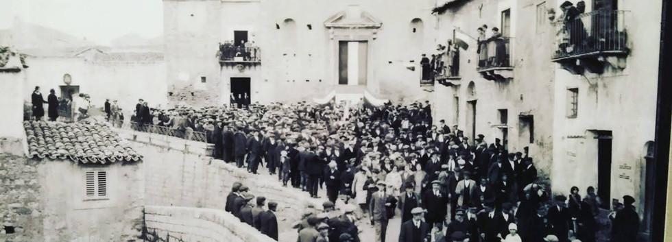 foto antica di chiesa san domenico camma