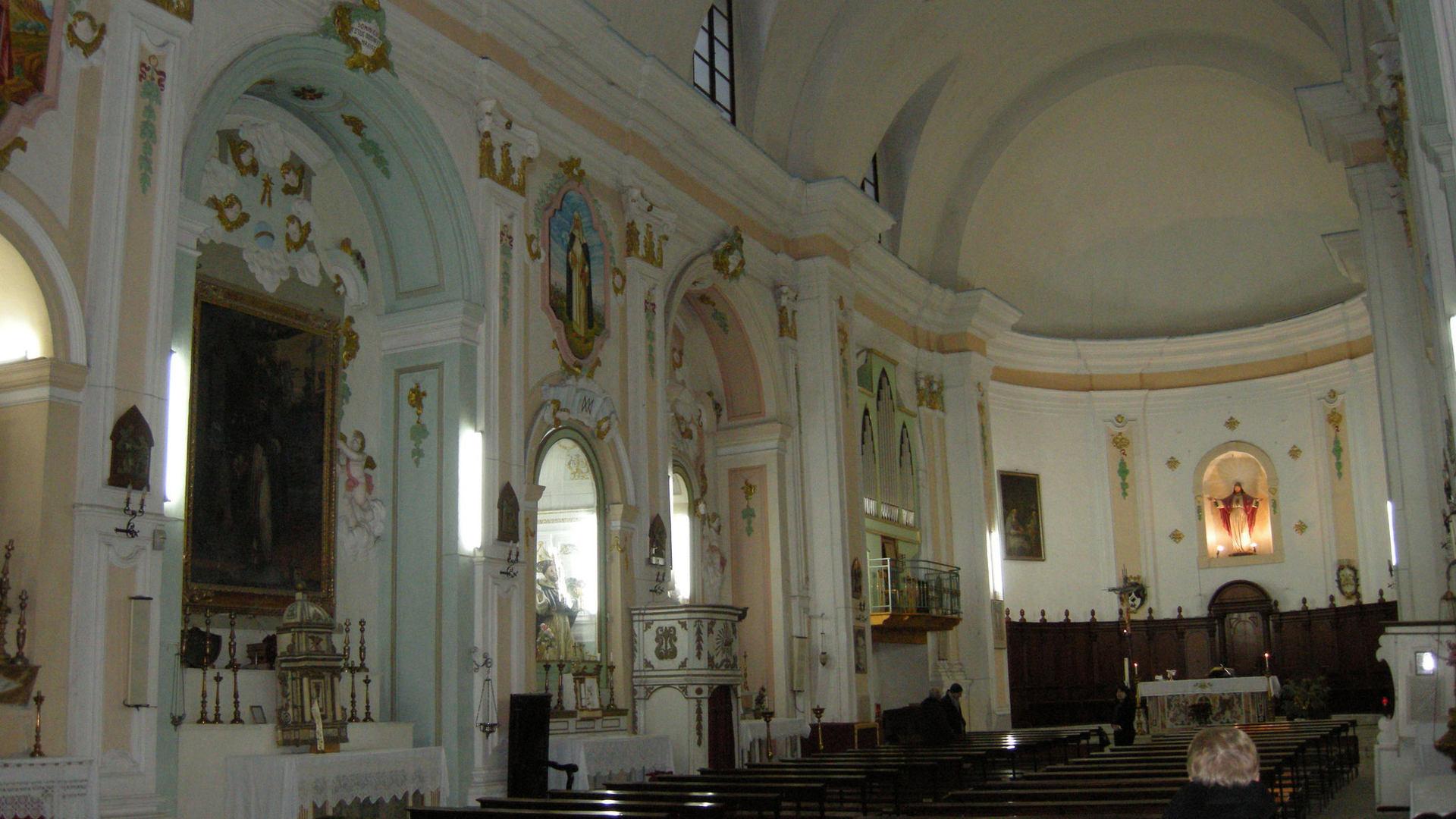 chiesa san domenico cammarata interni (1