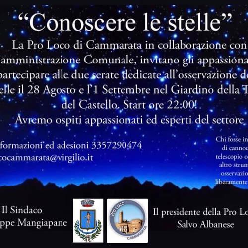 Conoscere le stelle Cammarata