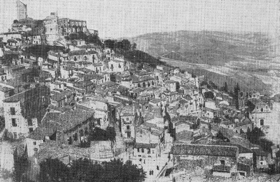 foto antica del castello