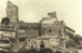FOTO CASTELLO DI CAMMARATA 1920 CIRCA
