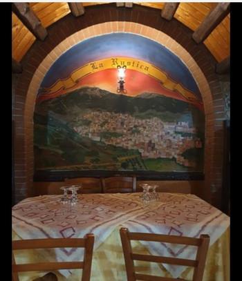 Dettagli ristorante la rustica Cammarata