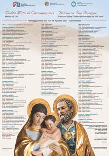 Festa S.S. Maria Cacciapensieri e San Giuseppe 2021
