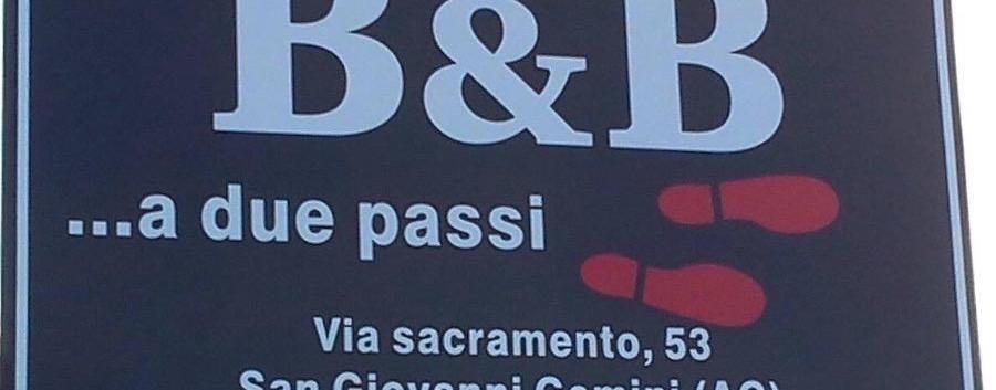 b&b a due passi San Giovanni Gemini, una montagna di eccellenze