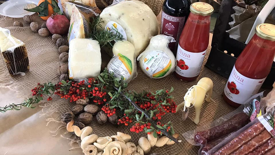 prodotti fiera della montagna formaggi (