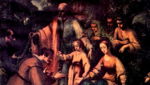 santa anna e san gioacchino e un brancif