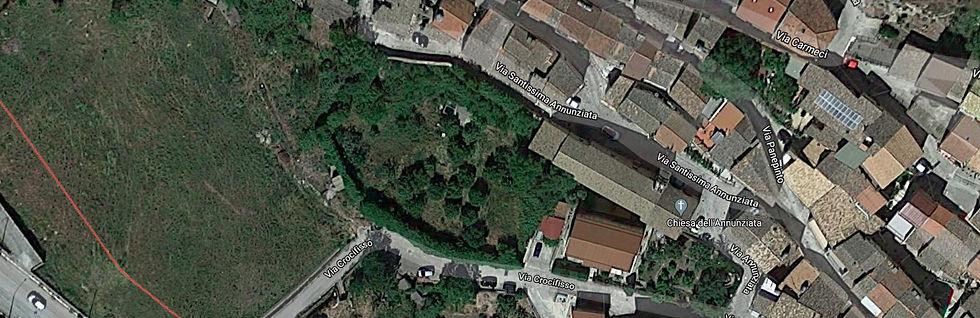 mappa giardino ritrovato cammarata