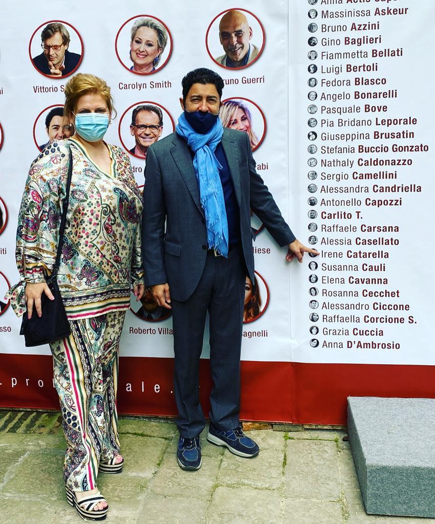 Irene Catarella e Salvo Mugnez