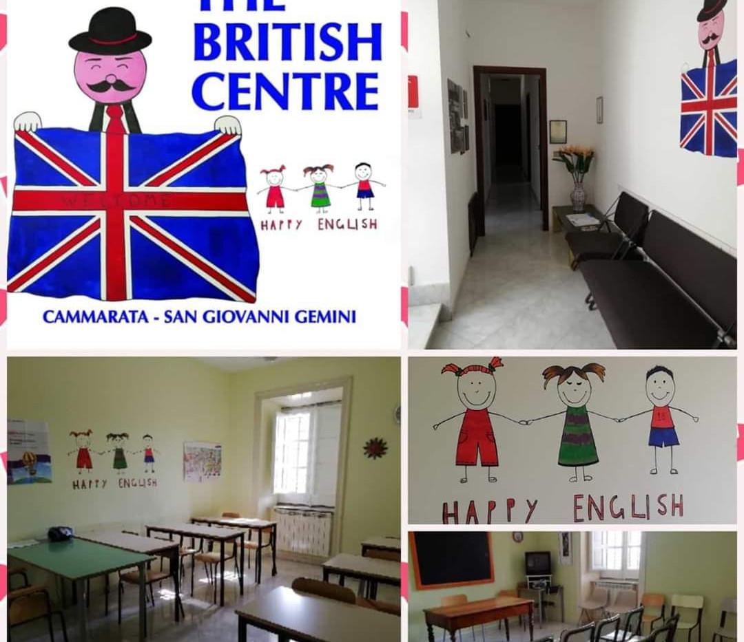 The british centre Cammarata e San Giovanni Gemini