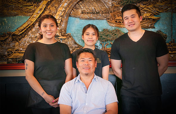 New China Restaurant Family and Staff