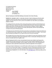 Big Top Press Release