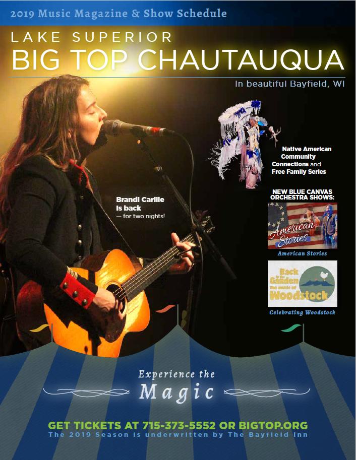 Big Top Chautauqua Season Magazine