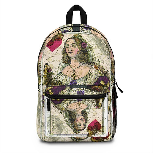 Queen of Hearts Backpack (Made in USA)