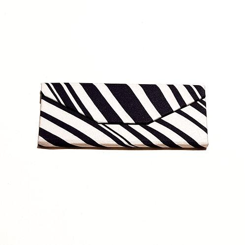 Black and Cream Stripe