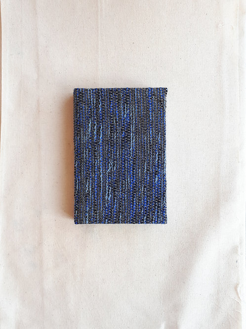 Blue Weave Notebook