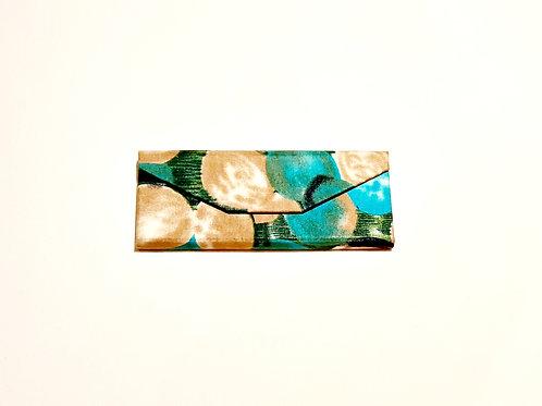 African Hand Painted Batik Cotton