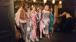 Glam party attire