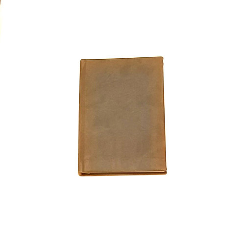 Olive Green Leather Notebook