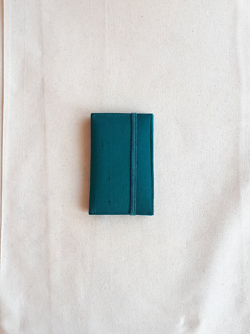Turquoise card wallet