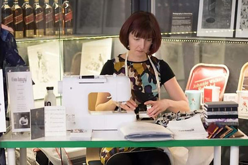 Learn to sew using a domestic sewing machine