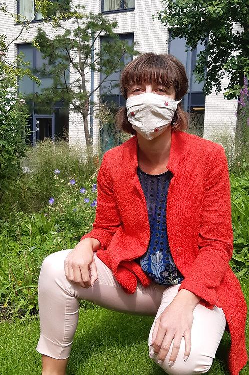 Organic cotton masks 2 layer