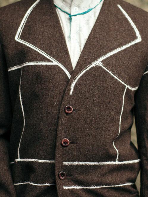 British wool coat