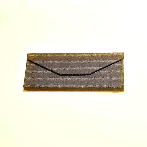 Black Pinstripe Wool