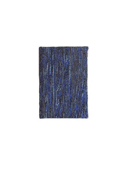 Blue Weave Notebook