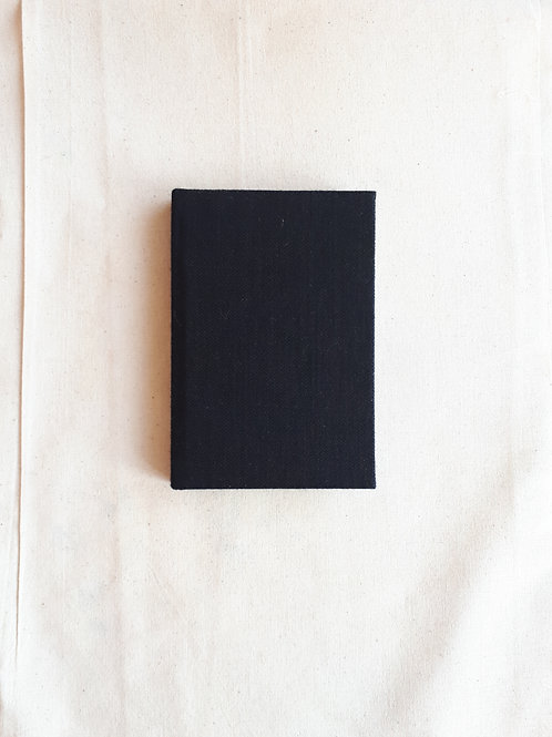 Black and Green Stripe Notebook