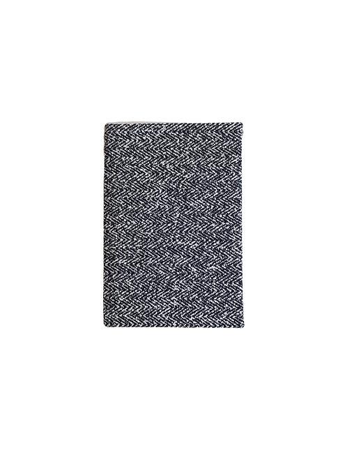 Black Herringbone Notebook