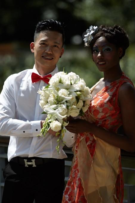 Wedding day attire