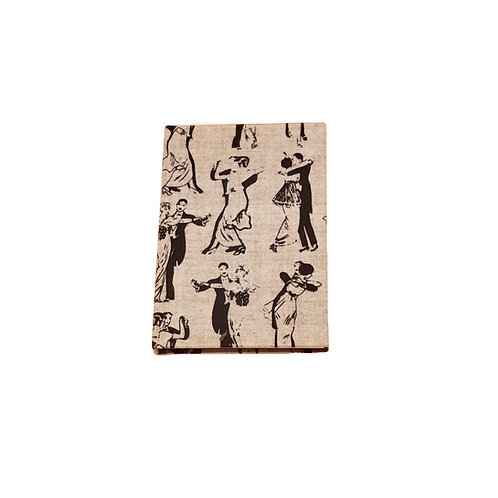 Vintage organic cotton notebook