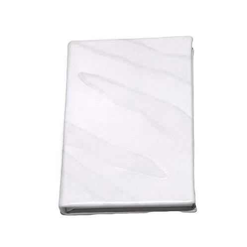 Cream Leather notebook
