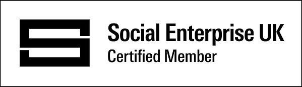 Certified Social Enterprise Badge long -