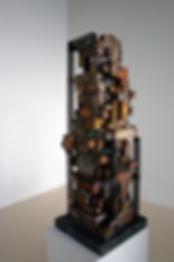 Modern Monument I, 85 x 32 x 28cm, Fomex