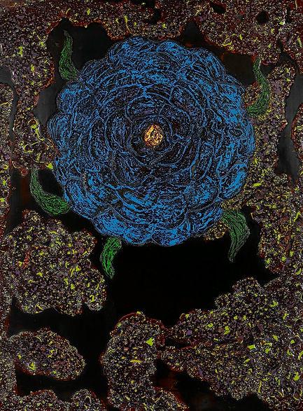 JUNG CHAEHEE_Blue flower-1_2006.jpg