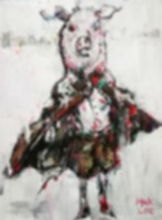 이학, Untitled5, Mixed media on Canvas, 78