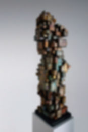 Modern Monument II, 108 x 26 x 30cm, Fom