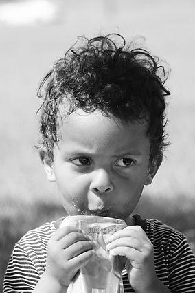 Kai Maji Ramirez _ Black Boy Sipping Juice