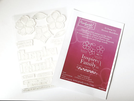 Bloomin Marvellous A5 stamp set