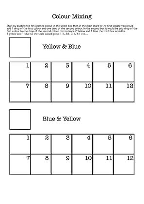 Yellows & Blues