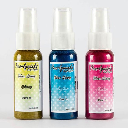 Pearlywinks Silver Lining (hybrid) 30ml Spray set