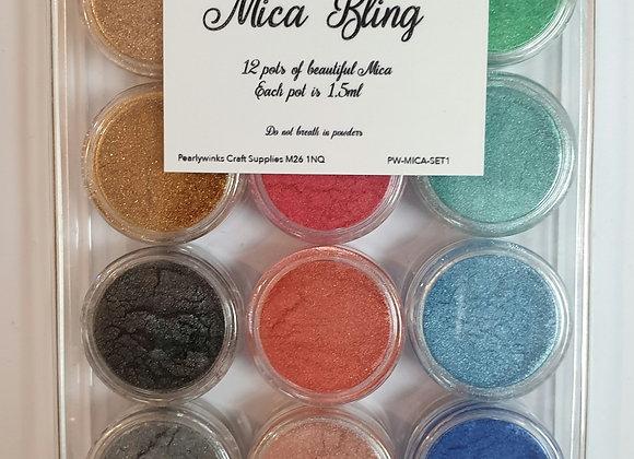 Mica Bling Set