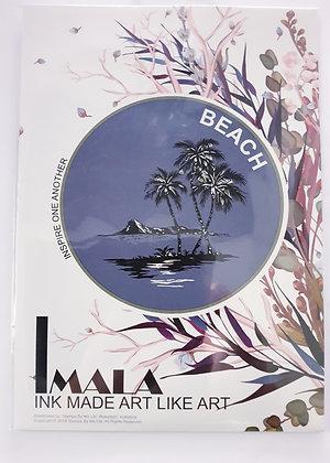 Imala Beach Stamp